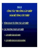THI CÔNG KẾT CẤU NHỊP CẦU BÊ TÔNG CỐT THÉP - PHẦN 2 pdf