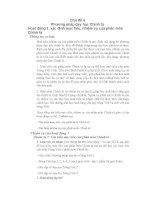 Phương pháp dạy tiếng việt ở Tiểu học_4 docx