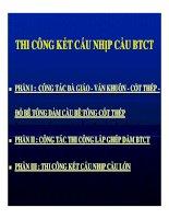 THI CÔNG KẾT CẤU NHỊP CẦU BÊ TÔNG CỐT THÉP - PHẦN 1 pdf