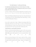 Các bệnh không lây – kẻ giết người thầm lặng pdf