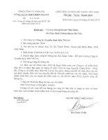 công ty cổ phần thủy điện nà lơi báo cáo tài chính cho năm tài chính kết thúc 31 tháng 12 năm 2013 đã được kiểm toán