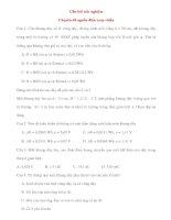 Vật Lý 12: Câu hỏi trắc nghiệm Chuyên đề nguồn điện xoay chiều ppt