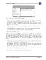 Giáo trình phân tích và hướng dẫn tìm hiểu các thanh tab trong Exchange Domain phần 3 pps