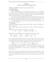 PHƯƠNG PHÁP PHÂN TÍCH CÁC CHỈ TIÊU MÔI TRƯỜNG ( ThS. ĐINH HẢI HÀ ) - CHƯƠNG 5 doc
