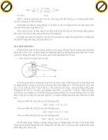 Giáo trình phân tích và hướng dẫn phương trình dao động điều hòa của sóng cơ học phần 4 ppsx