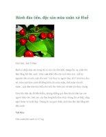 Bánh đào tiên, đặc sản mùa xuân xứ Huế docx