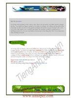 kỳ 1 ebook 1001 bài viết giành cho người mới học tiếng anh căn bản pps