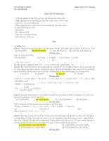 ôn thi đại học-bài  tập hóa học 12 có  lời giải
