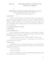 hướng dẫn chẩn đoán và điều trị viêm gan virus c - bộ y tế