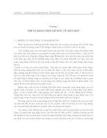 Giáo trình quy hoạch và thiết kế hệ thống thủy lợi - Chương 1 ppsx