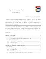 Ăn mòn và bảo vệ kim loại ( Trịnh Xuân Sén ) - Chương 1 doc