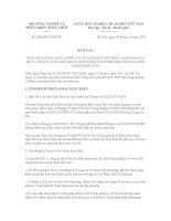 Báo cáo số 4985/BC-BNN-PC doc