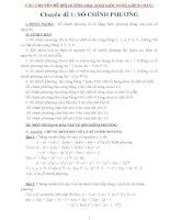 Các chuyên đề bồi dưỡng học sinh giỏi toán lớp 8 (hay)
