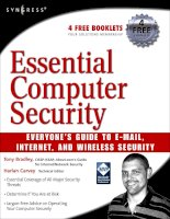 essential computer security phần 1 pps