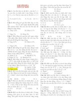 Vật Lý 12: CHUYÊN ĐỀ 3. CON LẮC ĐƠN doc