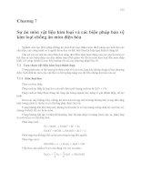Ăn mòn và bảo vệ kim loại ( Trịnh Xuân Sén ) - Chương 7 ppt