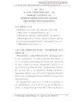 Giáo trình tin học trong quản lý xây dựng - Chương 1 docx