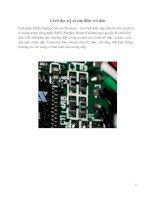 Cách đọc trị số của điện trở dán docx