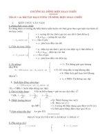 Vật Lý 12: CHƯƠNG III: DÒNG ĐIỆN XOAY CHIỀU ppt