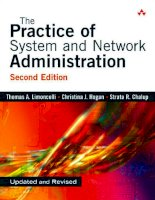 The Practice of System and Network Administration Second Edition phần 1 docx