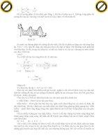 Giáo trình phân tích và hướng dẫn phương trình dao động điều hòa của sóng cơ học phần 3 ppt