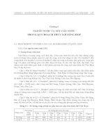 Giáo trình quy hoạch và thiết kế hệ thống thủy lợi - Chương 5 ppt