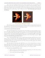 Giáo trình Macromedia Flash: Thiết kế và định dạng file ảnh Flash với .MP3 và .WAV phần 2 pps