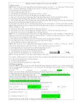 ĐỀ SỐ: NĂNG LƯỢNG CỦA CON LẮC LÒ XO pdf