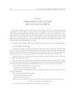 Giáo trình quy hoạch và thiết kế hệ thống thủy lợi - Chương 3 ppt