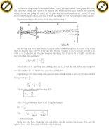 Giáo trình phân tích và hướng dẫn phương trình dao động điều hòa của sóng cơ học phần 2 pptx