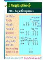 Bài giảng thiết kế hệ thống điện ( ĐH Sư phạm kỹ thuật Tp HCM ) - Phần 3 ppt
