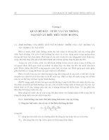 Giáo trình quy hoạch và thiết kế hệ thống thủy lợi - Chương 2 doc
