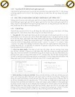 Giáo trình hướng dẫn tìm hiểu ngôn ngữ máy tính lập trình và kiểu dữ liệu của nó phần 2 pps
