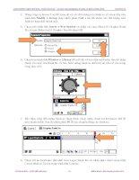 Giáo trình photoshop : Hướng dẫn thiết kế hình ảnh 3 chiều và cách pha trộn màu hợp lý phần 3 docx