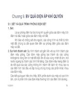 BÀI GIẢNG CUNG CẤP ĐIỆN 2 ( GV Nguyễn Quang Thuấn ) - CHƯƠNG 9 pps