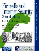 Firewalls and Internet Security, Second Edition phần 1 pdf