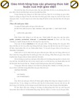 Giáo trình tổng hợp các phương thức bắt buộc của một giao diện phần 1 pot