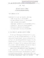 Giáo trình tin học trong quản lý xây dựng - Chương 4 docx