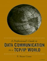 artech house a professionals guide to data communication in a tcp ip world 2004 phần 1 pps
