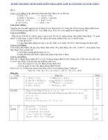 20 đề thi học sinh giỏi môn hóa học lớp 8 ( có đáp án chi tiết)