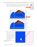 Giáo trình photoshop : Hướng dẫn thiết kế hình ảnh 3 chiều và cách pha trộn màu hợp lý phần 4 ppt