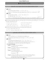 các dạng toán về đường tròn và elip trong thi đại học