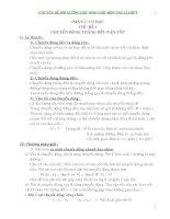Chuyên đề bồi dưỡng học sinh giỏi môn vật lý lớp 9