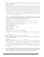 50 bài toán chọn lọc bồi dưỡng học sinh giỏi Toán lớp 5 (có lời giải)