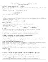 Tổng hợp kiến thức vật lý 9