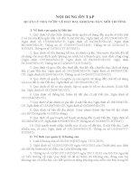 NỘI DUNG ôn THI CÔNG CHỨC NHÀ nước các bộ, sở TRONG cả nước 2014 (PHẦN 2)