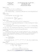 tuyển tập 70 đề thi thử đại học môn toán ( có đáp án chi tiết) của các trường THPT trên toàn quốc ( tập 2)