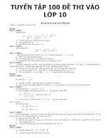 tổng hợp các dạng toán trong các đề thi tuyển sinh vào lớp 10 trung học phổ thông tham khảo bồi dưỡng học sinh giỏi (18)