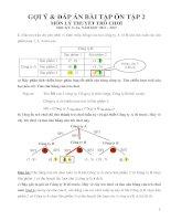 Gợi ý và đáp án bài tập ôn tập môn lý thuyết trò chơi