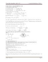 TÓM tắt CÔNG THỨC vật lý 12luyện thi đại học